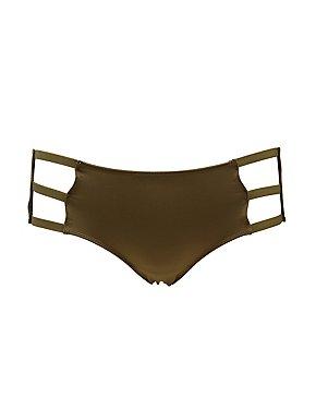 Caged Microknit Panties