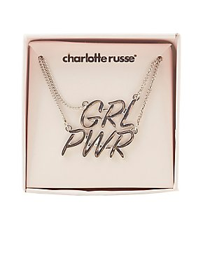 GRL PWR Pendant Necklaces - 2 Pack