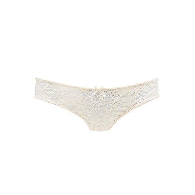 Caged Lace Thong Panties