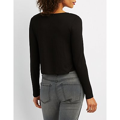 Strappy Cut-Out Top