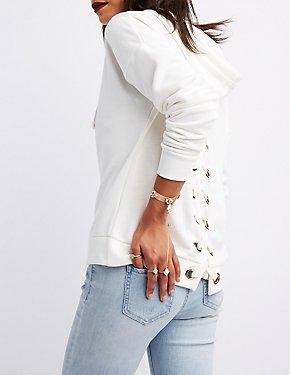 Embellished Mesh Stretch Bracelet & Ring Set