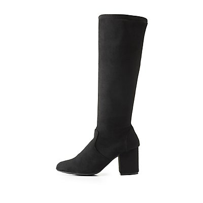 Bamboo Over-The-Knee Boots