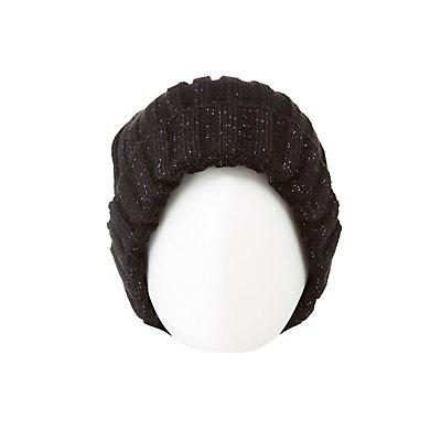 Chunky Ribbed Knit Beanie