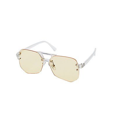 Light Weight Aviator Sunglasses