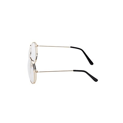 Metal Brow Bar Faux Readers