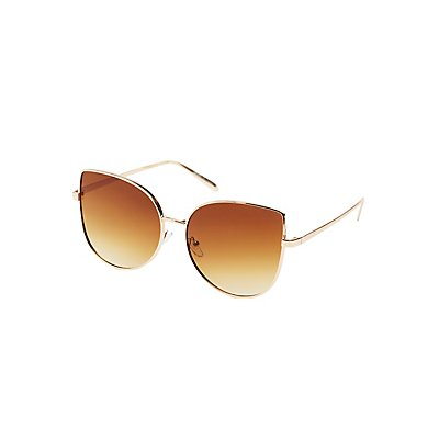 Oversized Cateye Sunglasses