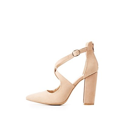 Crisscross Dress Sandals