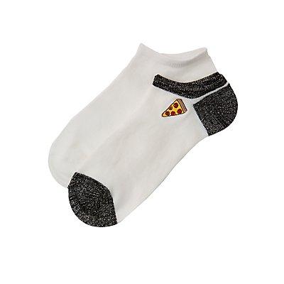 Pizza Ankle Socks - 2 Pack
