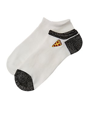 Pizza Ankle Socks - 2 Pack
