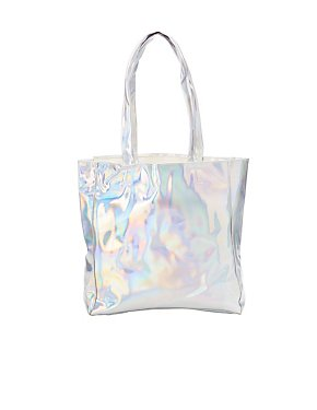 Patent Holographic Tote Bag