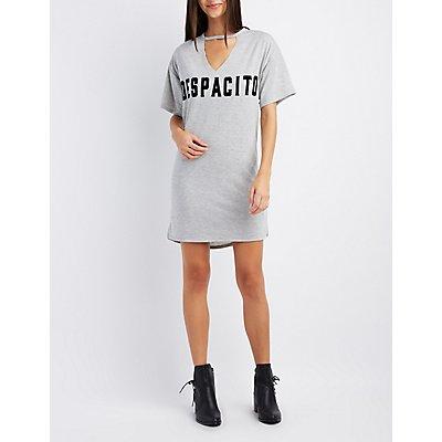 Despacito Graphic T-Shirt Dress