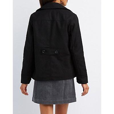 Military Peacoat Jacket
