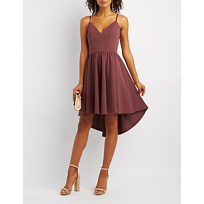 High-Low Skater Dress
