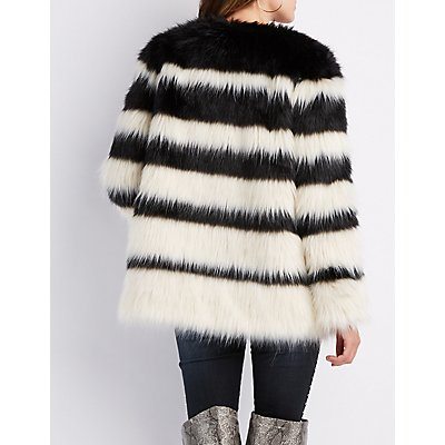Faux Fur Oversize Jacket