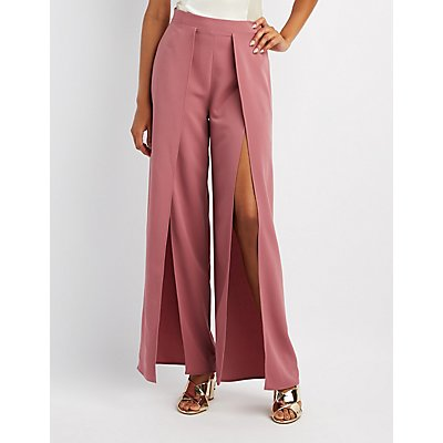 Tulip Wide-Leg Pants