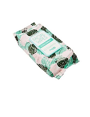 Coconut Facial Wipes