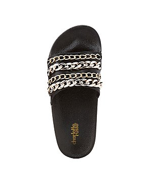 Chainlink Slide Sandals
