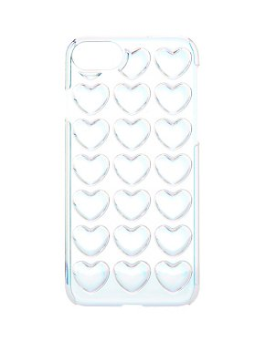 Holographic 3-D Hearts Phone Case