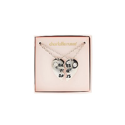 Babes For Days Pendant Necklaces - 2 Pack