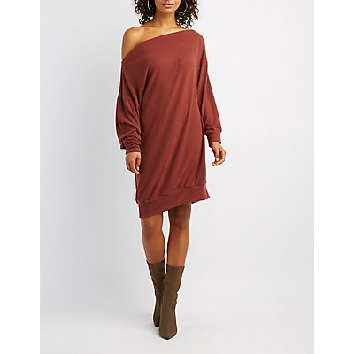Hacci Knit Sweater Dress