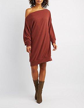 Hacci Knit Sweater Dress