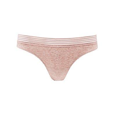 Caged Lace-Back Thong Panties