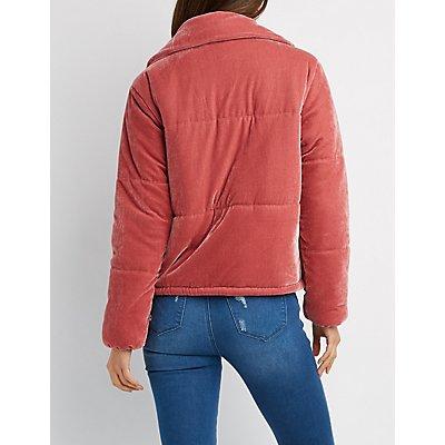 Velvet Puffy Jacket