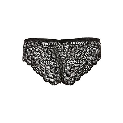 Lace-Back Cheeky Panties