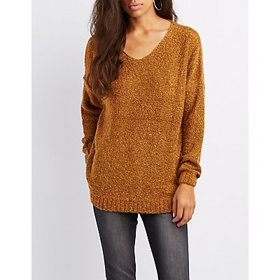 Boucle Pullover Sweater