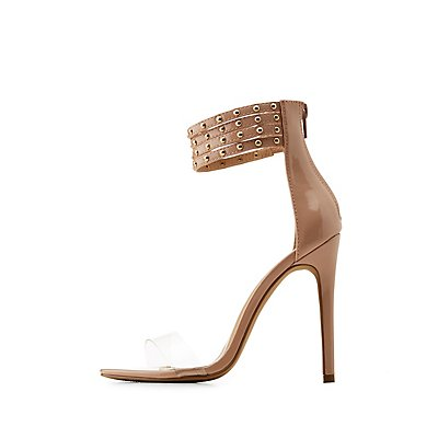 Studded Ankle Strap Dress Sandals
