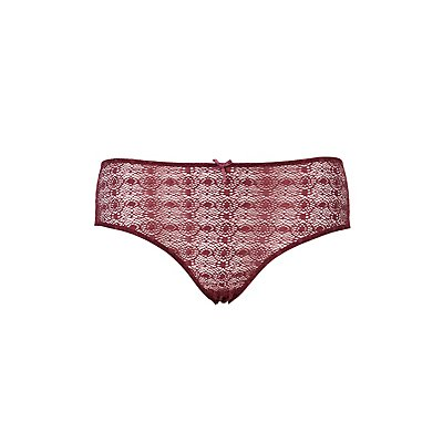 Plus Size Caged-Back Hipster Panties