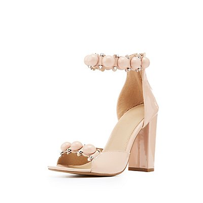 Bauble Two-Piece Sandals
