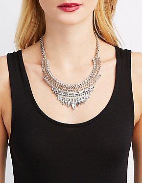 Embellished Statement Necklace