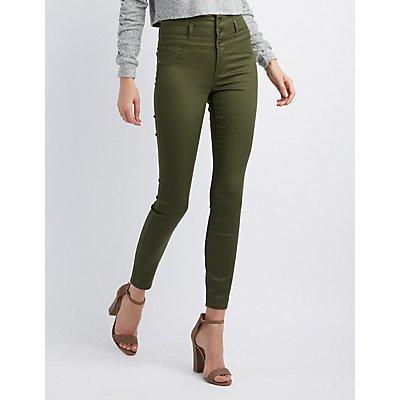 Refuge Hi-Waist Skinny Jeans