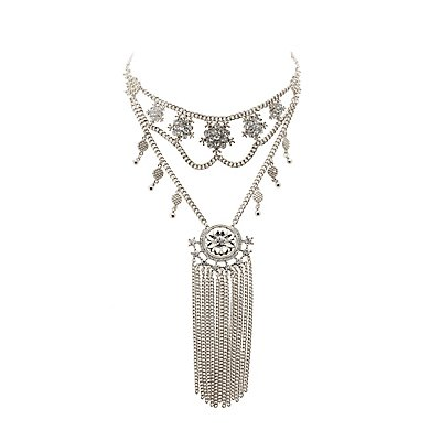 Embellished Layered Necklace