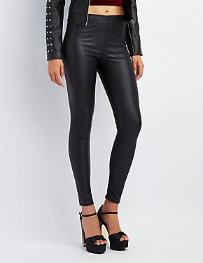 High-Rise Liquid Leggings