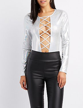 Lattice-Front Holographic Bodysuit