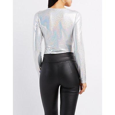 Lattice-Front Holographic Bodysuit