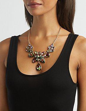 Embellished Bid Necklace