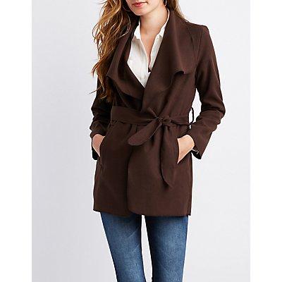 Wrap Fleece Jacket