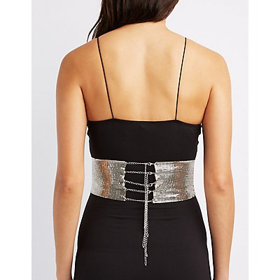 Chainmail O-Ring Corset Belt