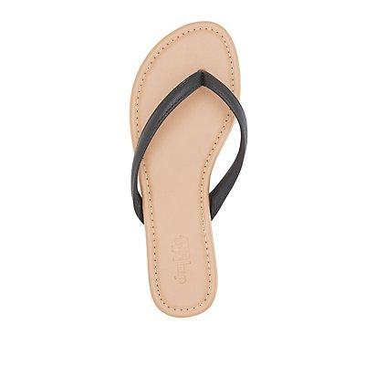 Strappy Flip Flop Sandals
