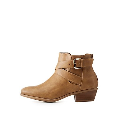 Wide Width Ankle Boots