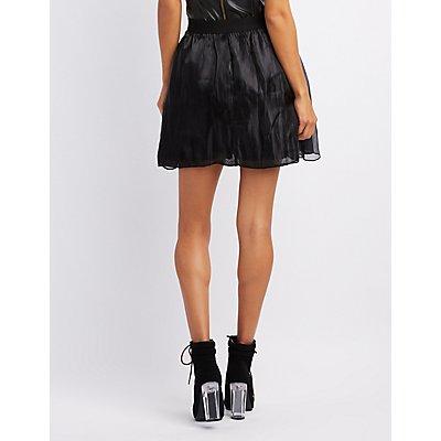 Full Mesh Skater Skirt