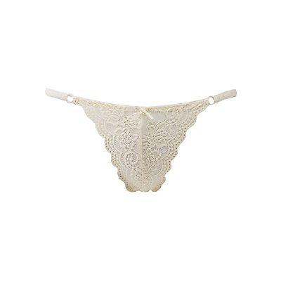 Lace String Bikini Cheeky Panties