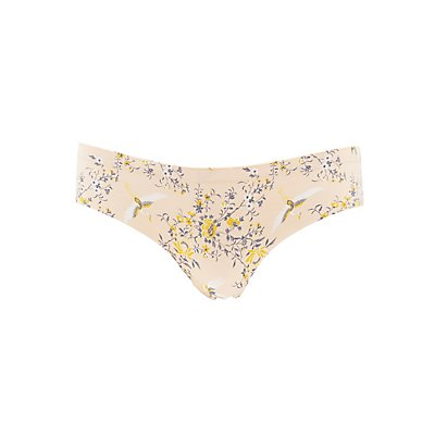 Floral Laser Cut Cheeky Panties