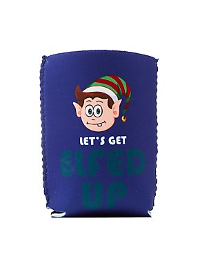 Let's Get Elfed Up Drink Sleeve