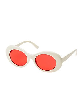 Oversize Oval Sunglasses