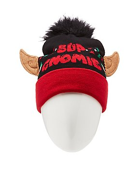 Sup Gnomie Holiday Beanie
