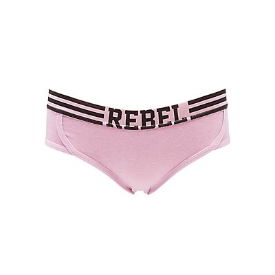 Graphic Hipster Panties